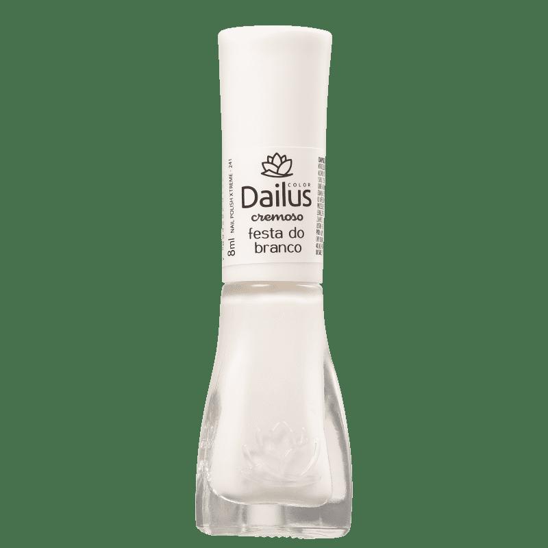 Dailus 241 Festa do Branco - Esmalte Cremoso 8ml