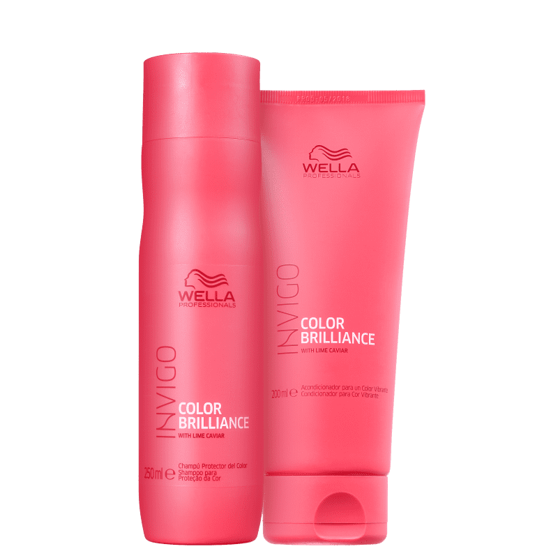 Kit Wella Professionals Invigo Color Brilliance Duo (2 Produtos)