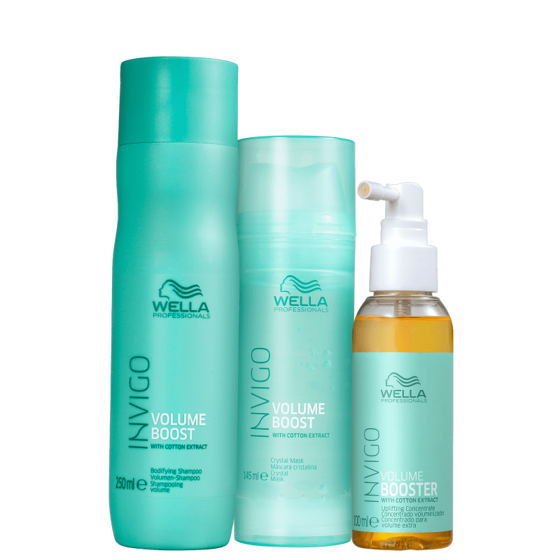 Kit Wella Professionals Invigo Volume Boost Trio (3 Produtos)