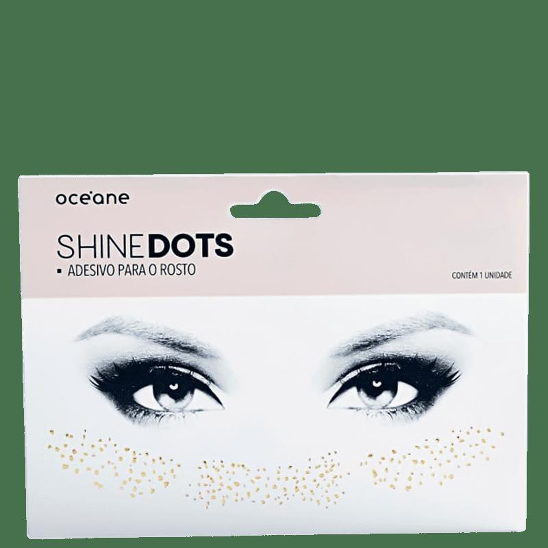 Océane Shine Dots SD1 Dourado - Adesivo para o Rosto 0,037g