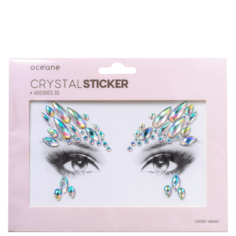 Océane Crystal Sticker CS1 - Adesivo 3D