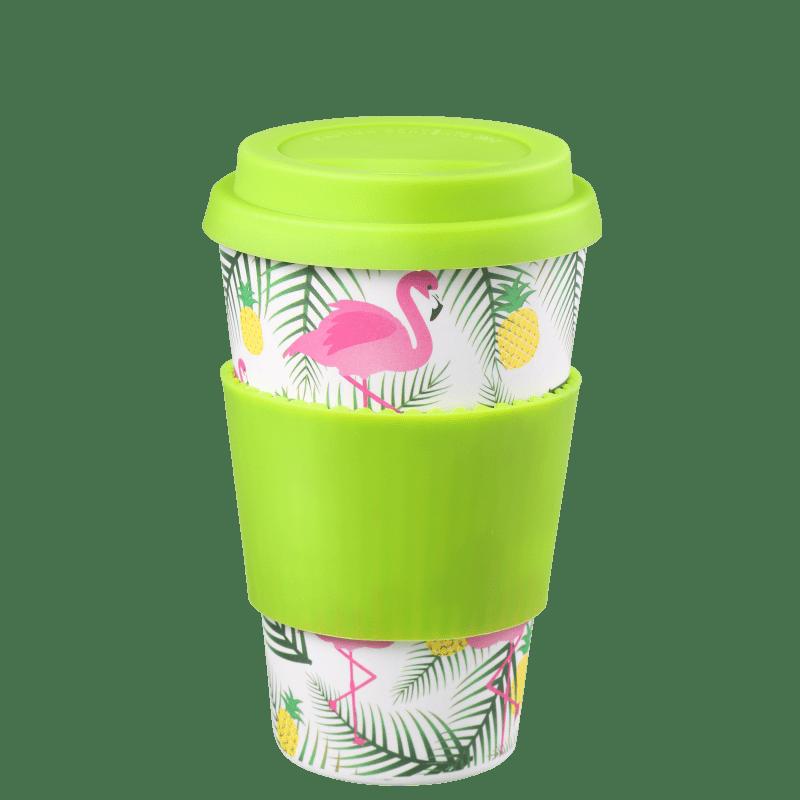 Océane Bamboo Eco Flamingos - Copo