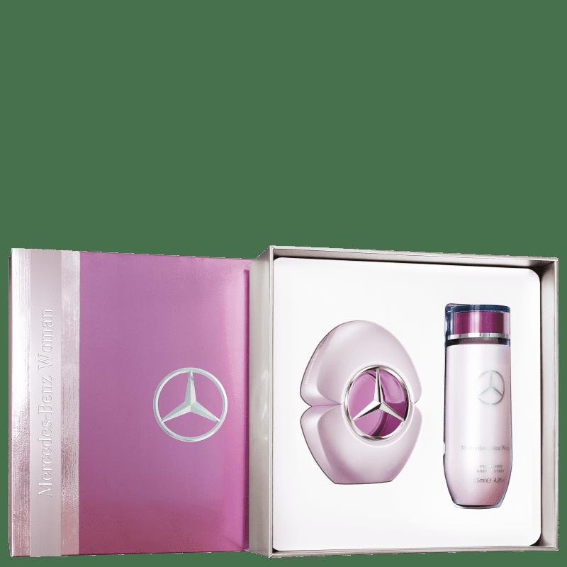 Conjunto Woman Mercedes-Benz Feminino – Eau de Parfum 60ml + Loção Corporal 125ml