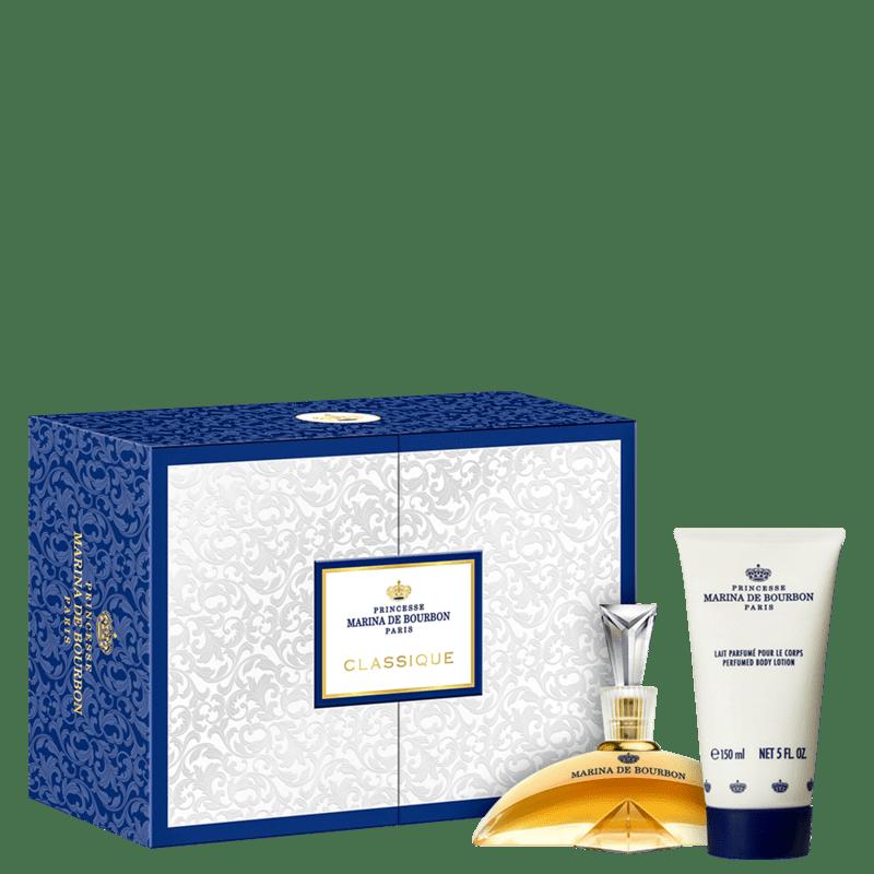 Conjunto Classique Duo Marina de Bourbon Feminino - Eau de Parfum 100ml + Loção Corporal 150ml
