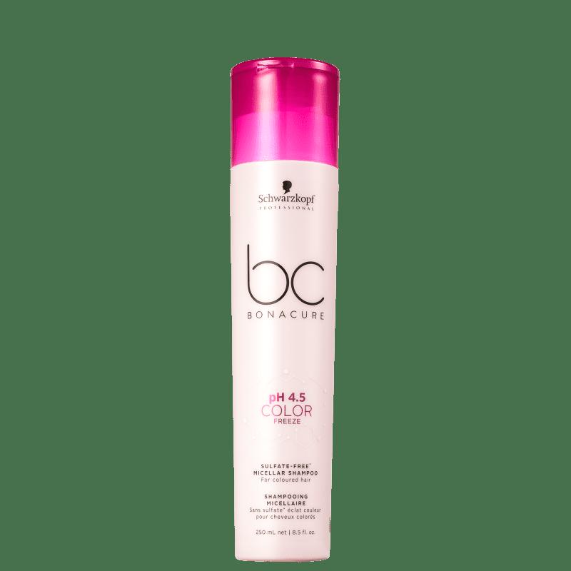 Schwarzkopf Professional BC Bonacure pH 4.5 Color Freeze Micellar - Shampoo sem Sulfato 250ml