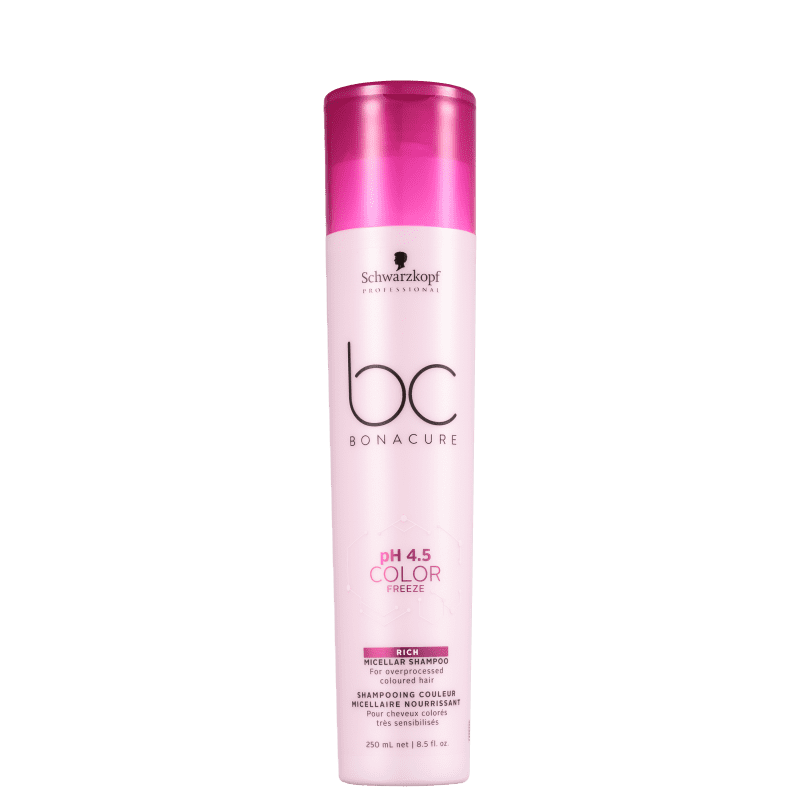 Schwarzkopf Professional BC Bonacure pH 4.5 Color Freeze Micellar Rich - Shampoo 250ml