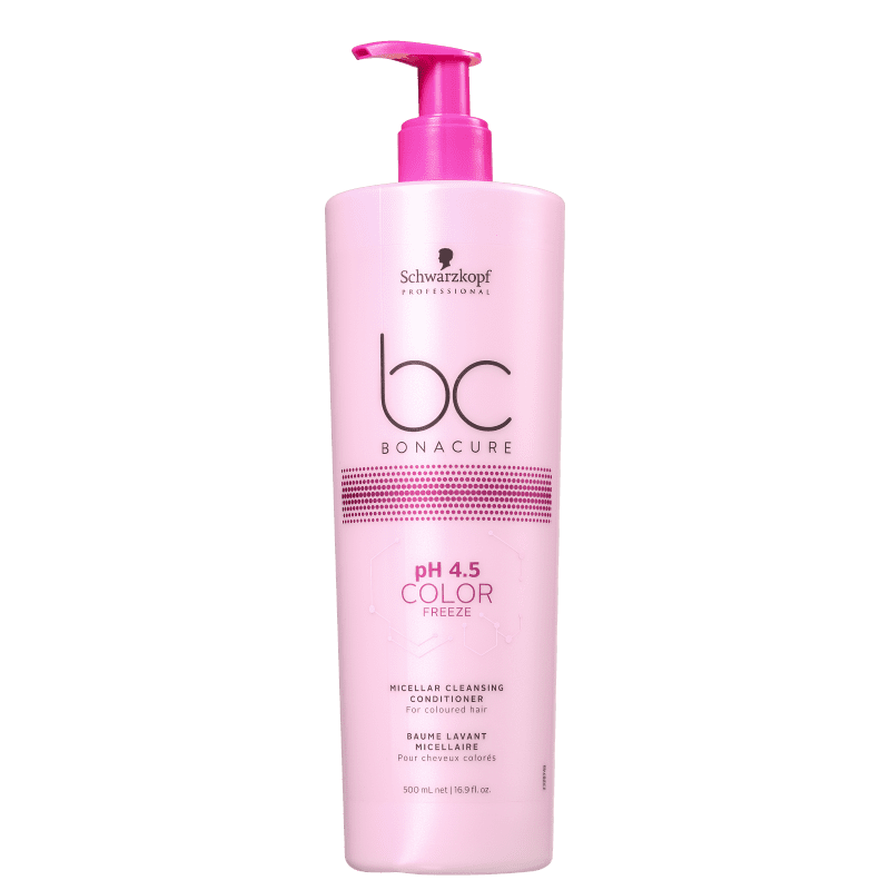 Schwarzkopf Professional BC Bonacure pH 4.5 Color Freeze Micellar Cleasing - Condicionador Co-Wash 500ml