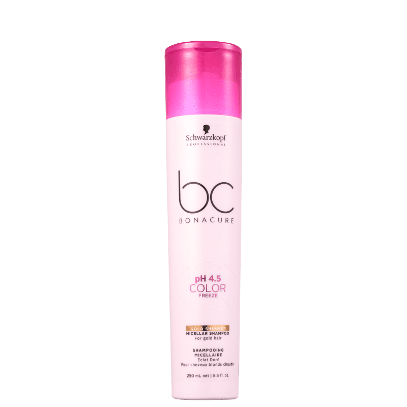 Schwarzkopf Professional BC Bonacure pH 4.5 Color Freeze Micellar Gold Shimmer - Shampoo 250ml