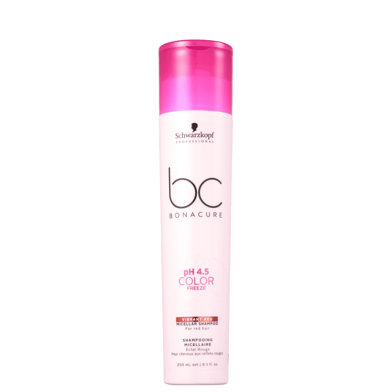Schwarzkopf Professional BC Bonacure pH 4.5 Color Freeze Micellar Vibrant Red - Shampoo 250ml