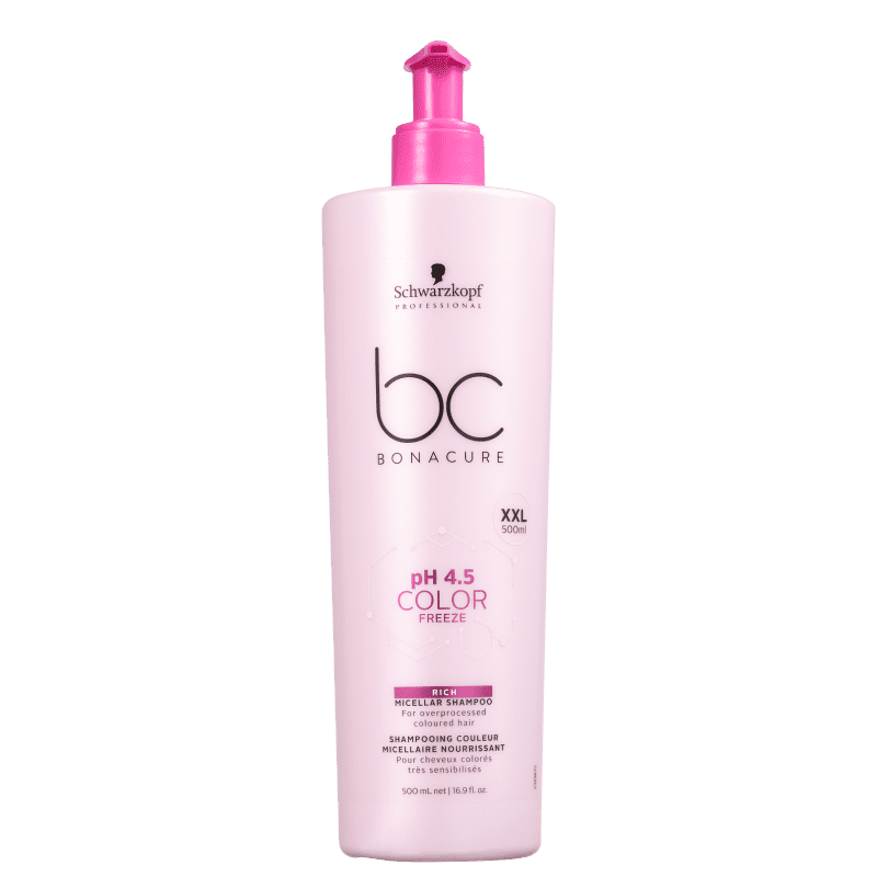 Schwarzkopf Professional BC Bonacure pH 4.5 Color Freeze Micellar Rich - Shampoo 500ml