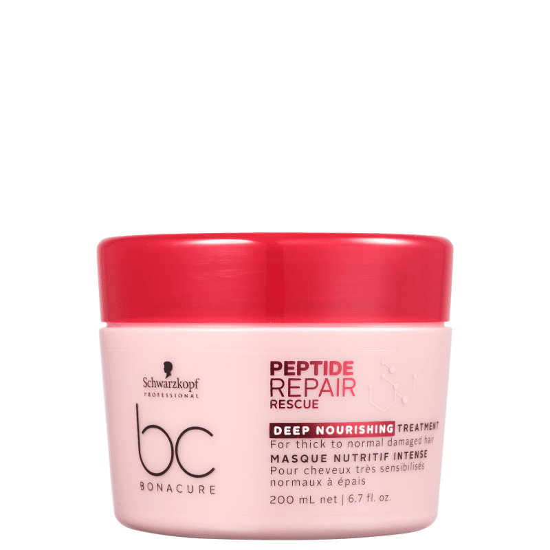 Schwarzkopf Professional BC Bonacure Peptide Repair Rescue Deep Nourish Treatment - Máscara Capilar 200ml