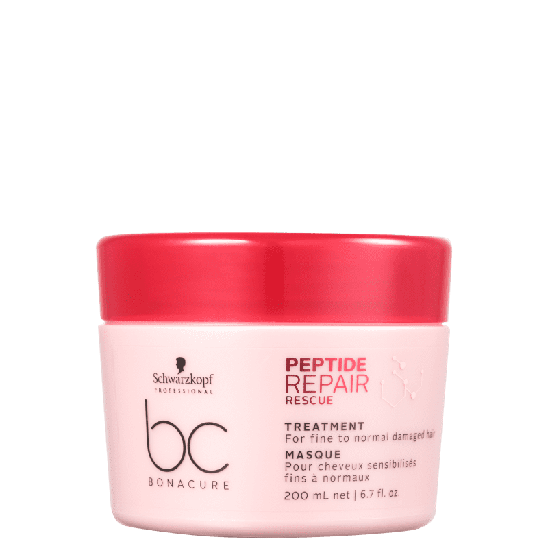 Schwarzkopf Professional BC Bonacure Peptide Repair Rescue Treatment - Máscara Capilar 200ml