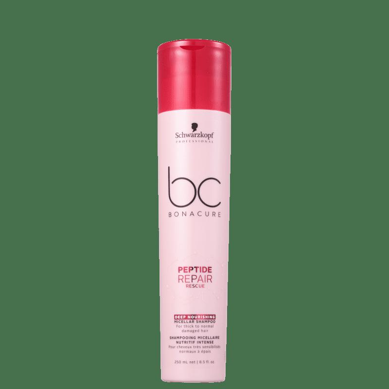 Schwarzkopf Professional BC Bonacure Peptide Repair Rescue Micellar Deep Nourish - Shampoo 250ml