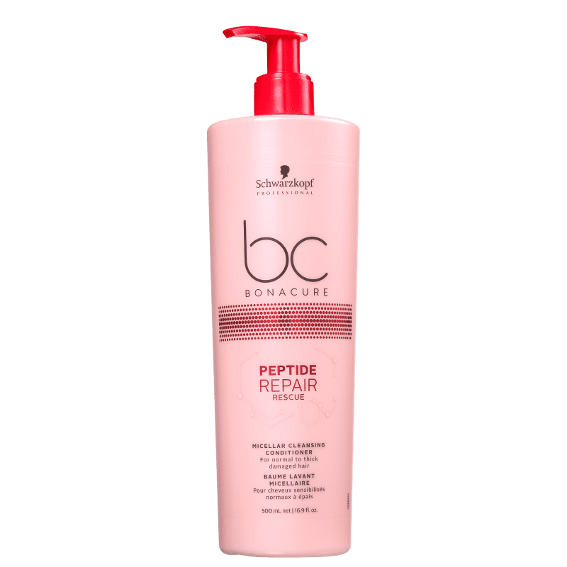 Schwarzkopf Professional BC Bonacure Peptide Repair Rescue Micellar Cleasing - Condicionador Co-Wash 500ml