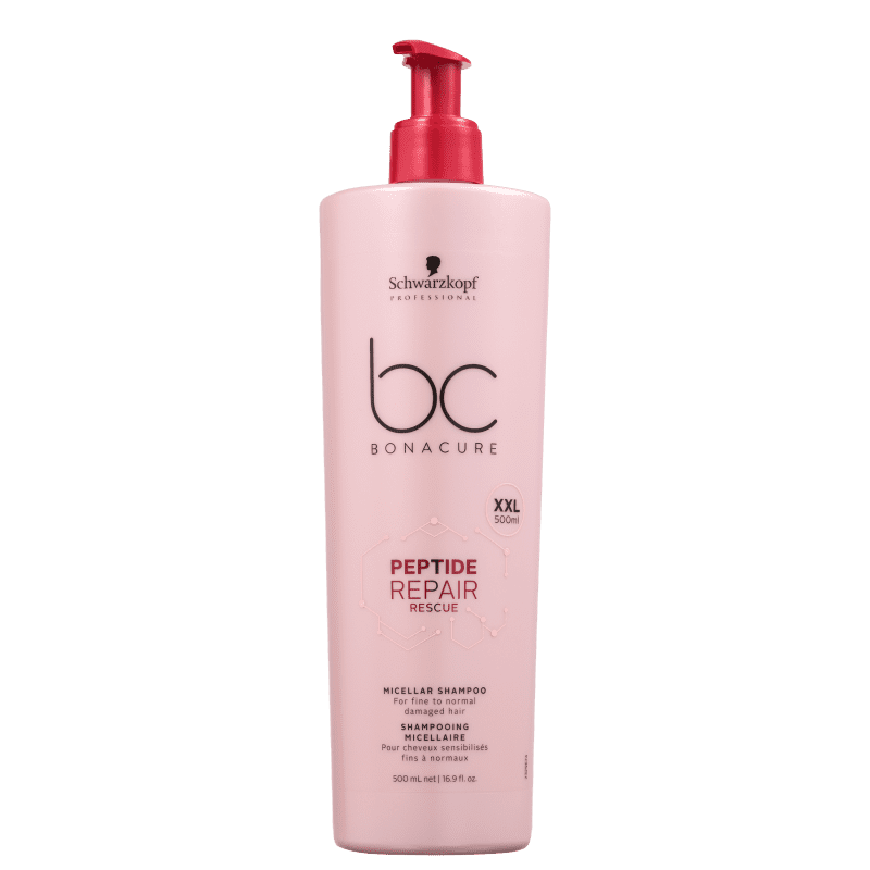 Schwarzkopf Professional BC Bonacure Peptide Repair Rescue Micellar - Shampoo 500ml