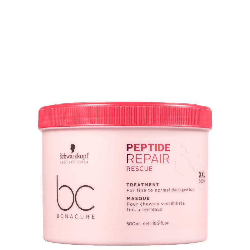 Schwarzkopf Professional BC Bonacure Peptide Repair Rescue Treatment - Máscara Capilar 500ml