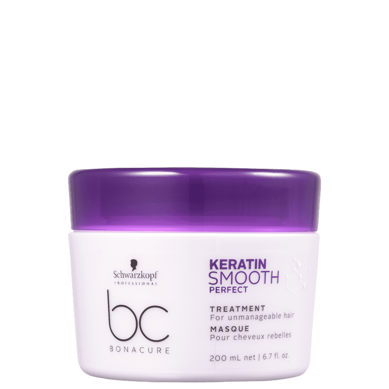 Schwarzkopf Professional BC Bonacure Keratin Smooth Perfect - Máscara Capilar 200ml