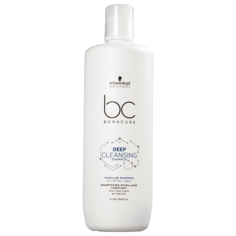 Schwarzkopf Professional BC Bonacure Deep Cleansing - Shampoo 1000ml