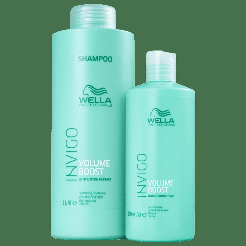 Kit Wella Professionals Invigo Volume Boost Salon Duo (2 Produtos)
