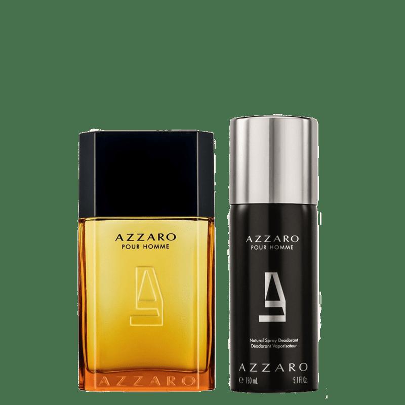 Conjunto Azzaro Pour Homme Masculino - Eau de Toilette 100ml + Desodorante 150ml
