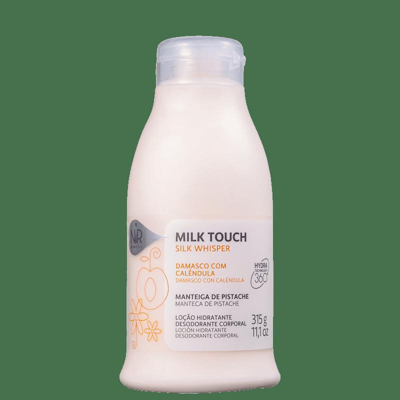 Nir Cosmetics Milk Touch Silk Whisper - Loção Hidratante Corporal 315g