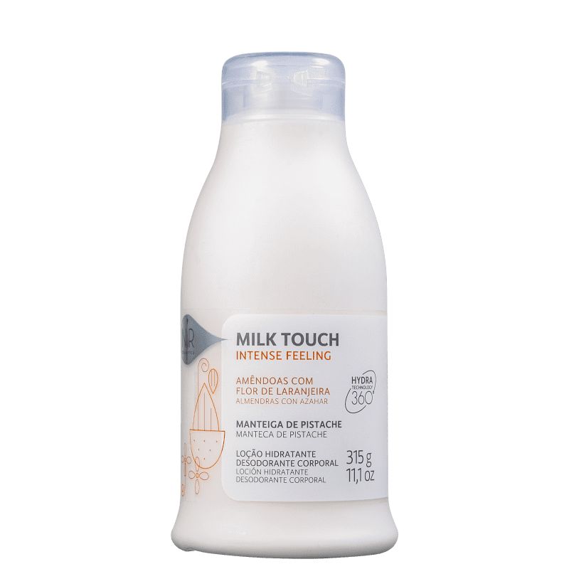 Nir Cosmetics Milk Touch Intense Feeling - Loção Hidratante Corporal 315g
