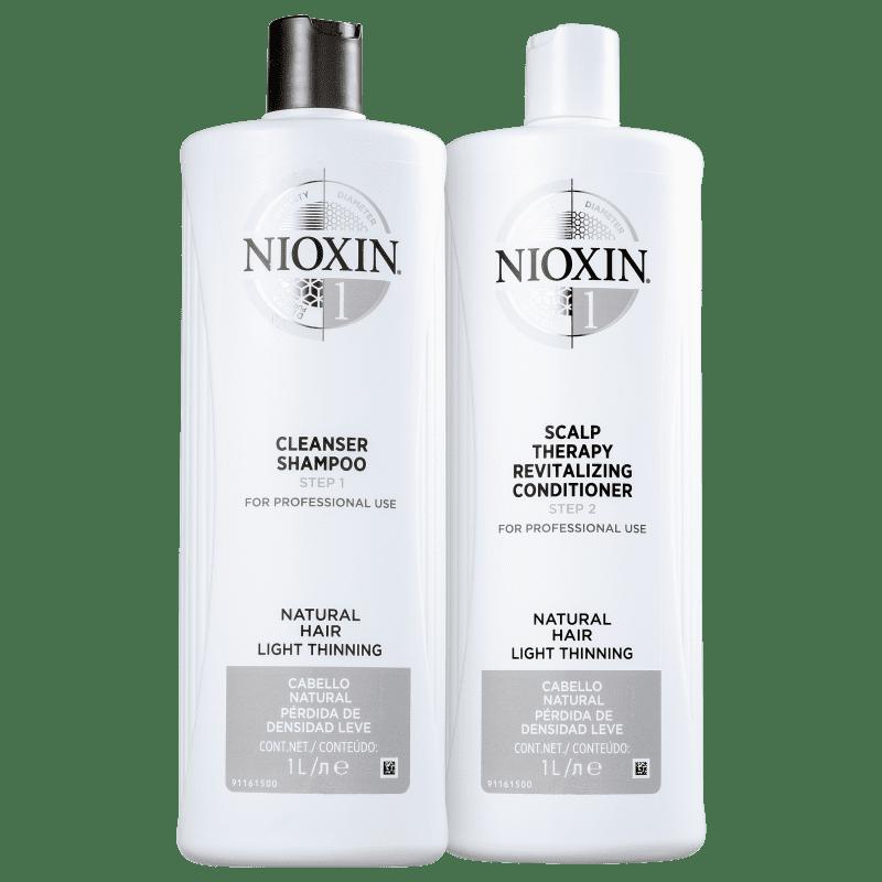 Kit Nioxin System 1 Salon Duo (2 Produtos)