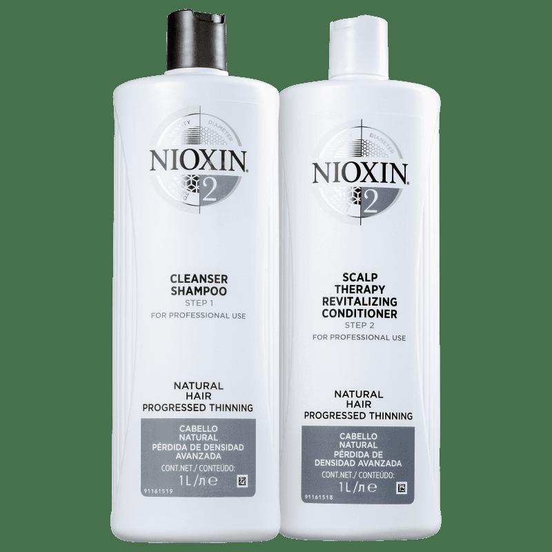 Kit Nioxin System 2 Salon Duo (2 Produtos)