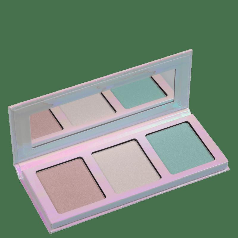 Essence Go For The Glow 01 - Paleta de Iluminador 12g