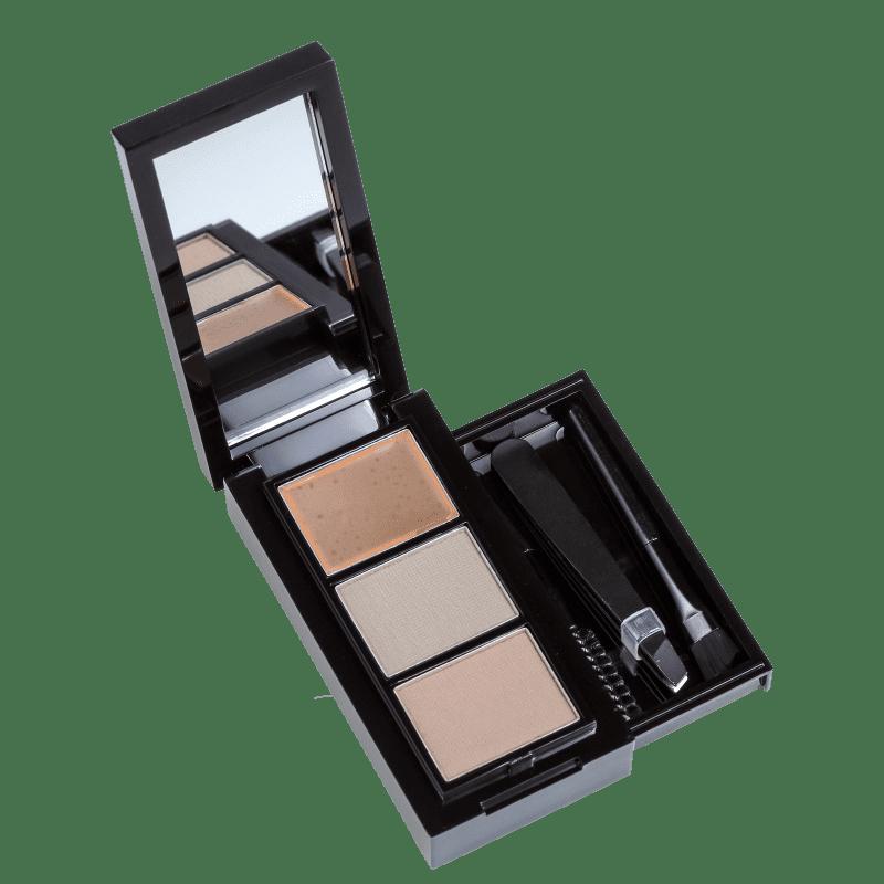 Hot MakeUp Complete Me EK02 - Paleta para Sobrancelha
