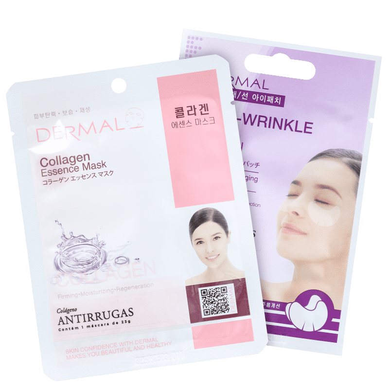 Kit Dermal Collagen Anti-Wrinkle (2 Produtos)