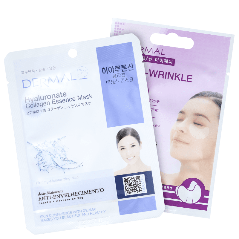 Kit Dermal Hyaluronate Anti-Wrinkle (2 Produtos)