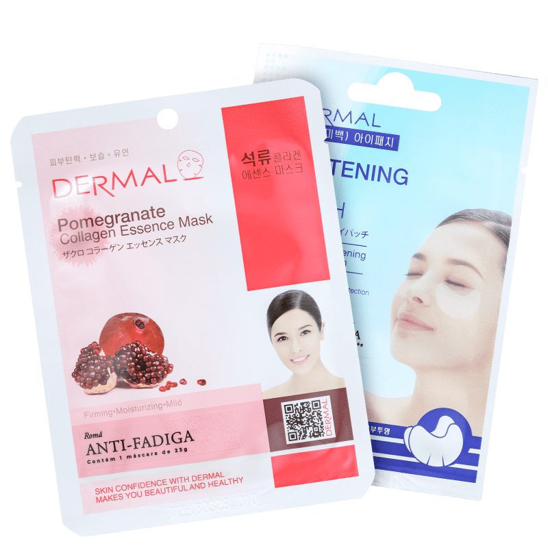 Kit Dermal Pomegranate Whitening (2 Produtos)