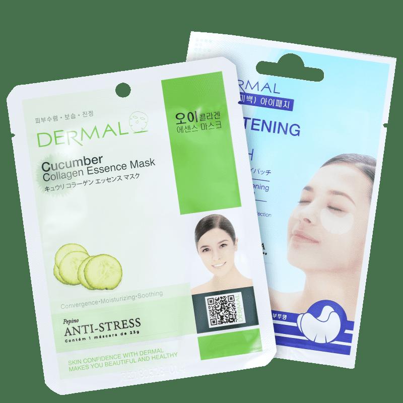 Kit Dermal Cucumber Whitening (2 Produtos)