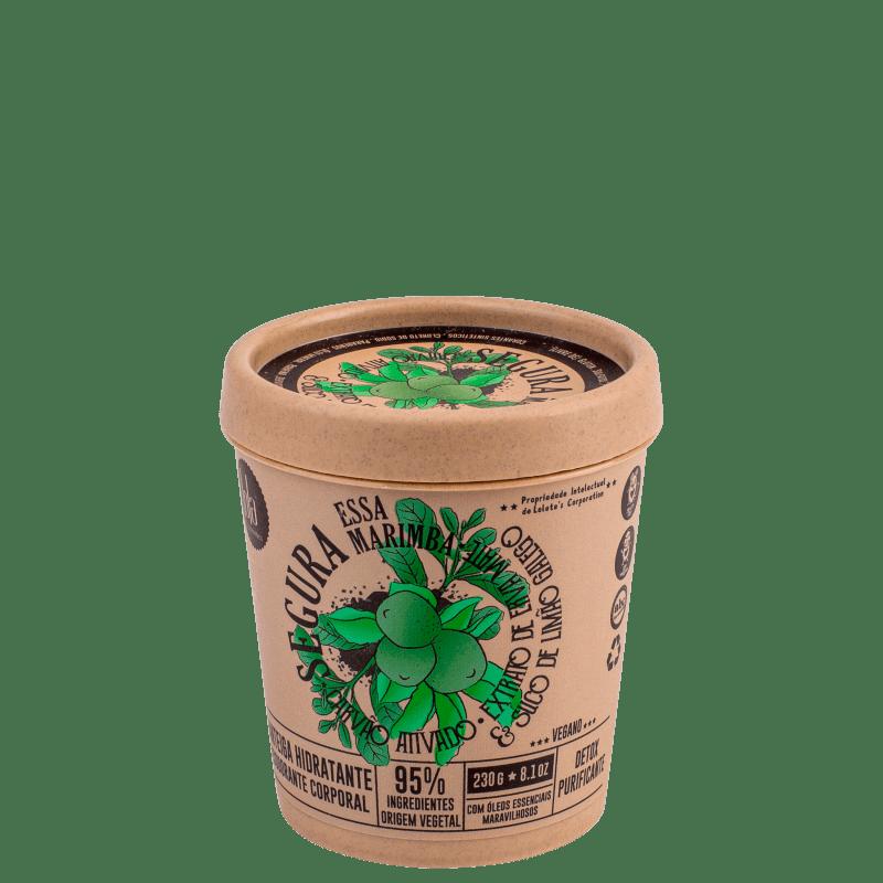 Lola Cosmetics Segura Essa Marimba Detox Purificante - Creme Hidratante Corporal 230g
