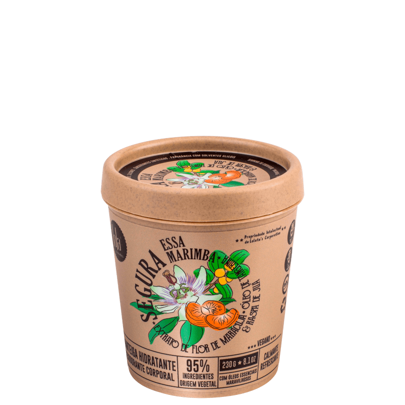 Lola Cosmetics Segura Essa Marimba Extrato de Flor de Maracujá - Hidratante Corporal 230g