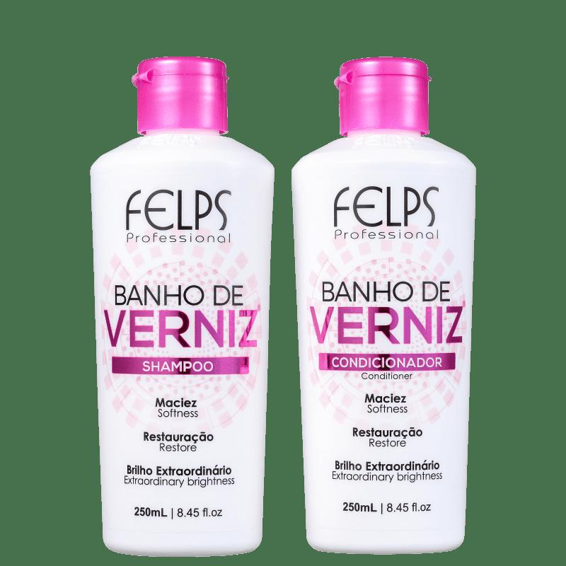 Kit Felps Profissional Banho de Verniz Duo (2 Produtos)