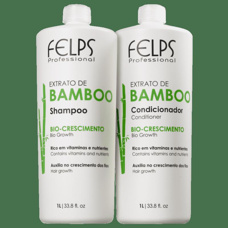 Kit Felps Profissional Extrato de Bamboo Salon Duo (2 Produtos)