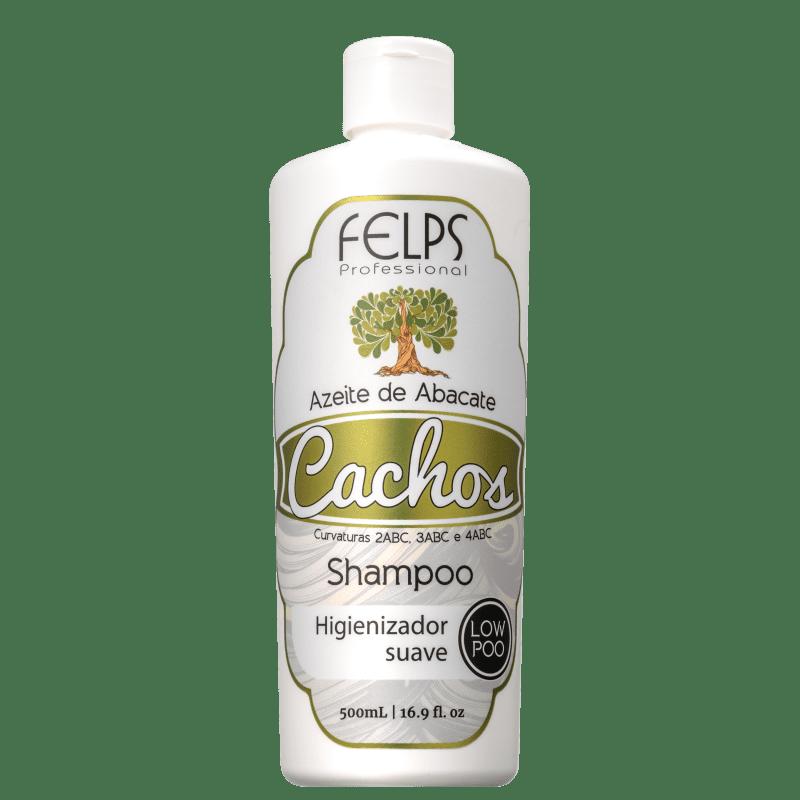 Felps Profissional Cachos Azeite de Abacate - Shampoo Low Poo 500ml