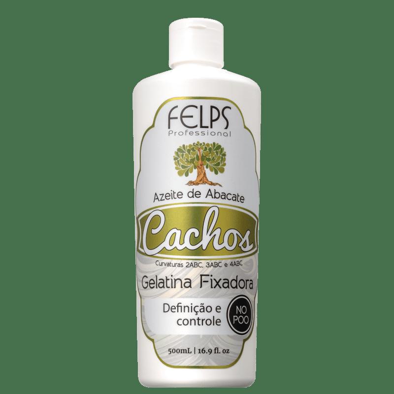 Felps Profissional Cachos Azeite de Abacate - Gel Fixador 500g