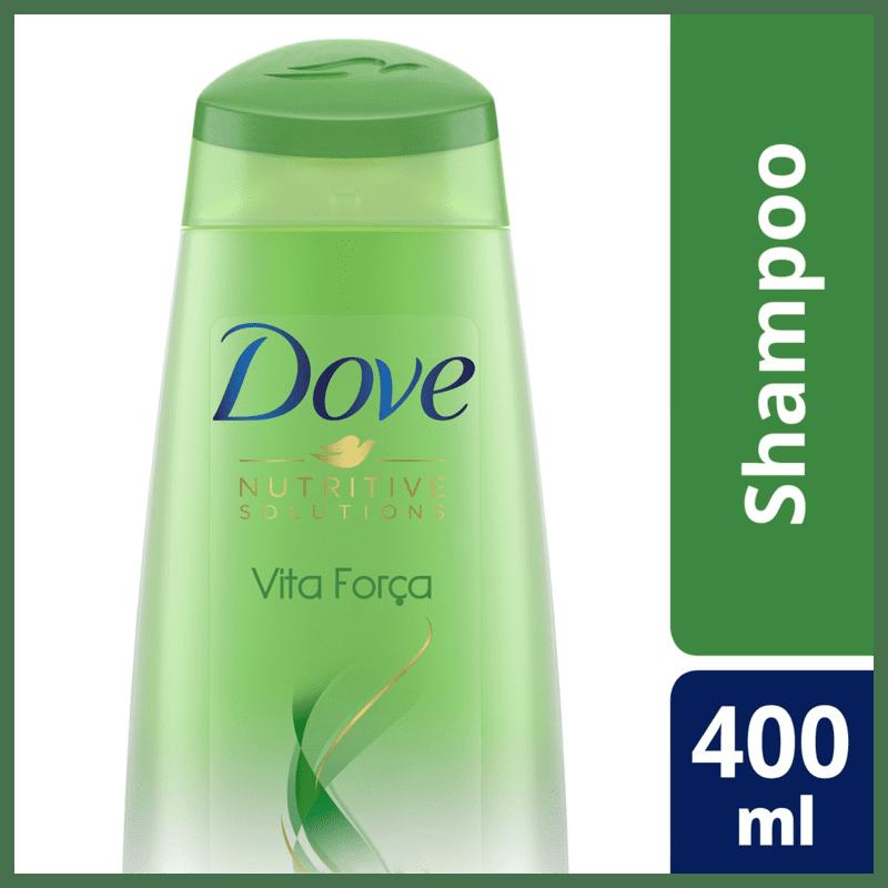 Dove Vita Força - Shampoo 400ml