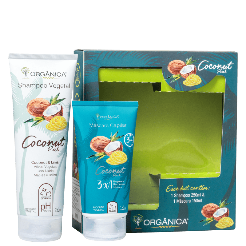Kit Orgânica Coconut Fresh (2 Produtos)