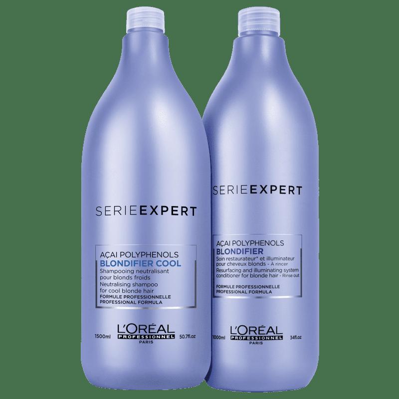 Kit L'Oréal Professionnel Serie Expert Blondifier Cool Salon Duo (2 Produtos)
