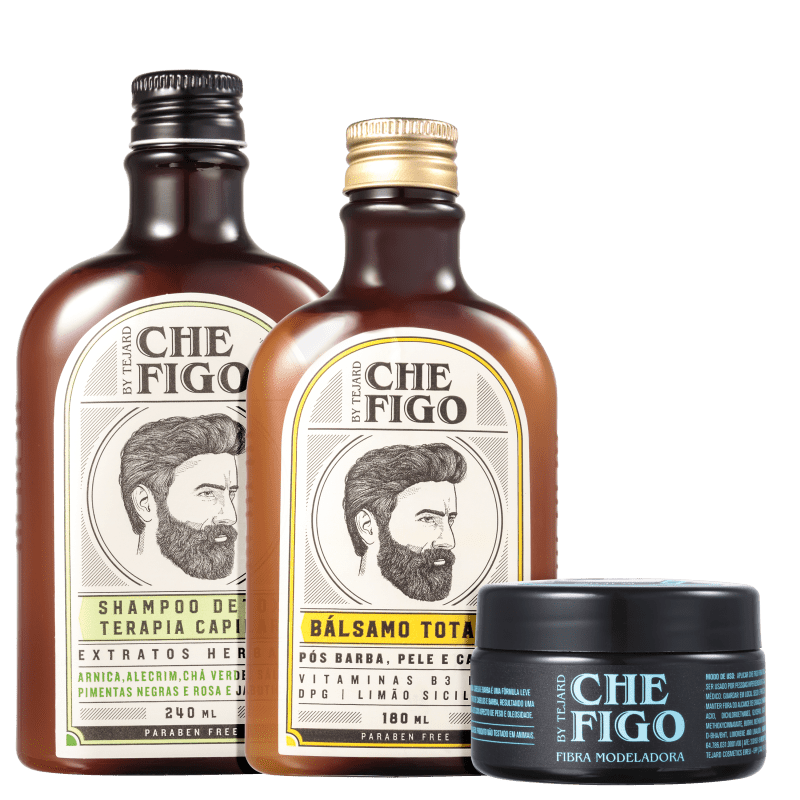Kit Che Figo By Tejard Completo (3 Produtos)