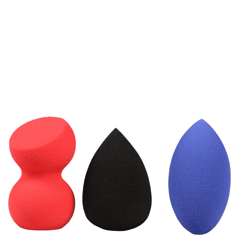 Kit Klasme Makeup Sponge (3 Unidades)