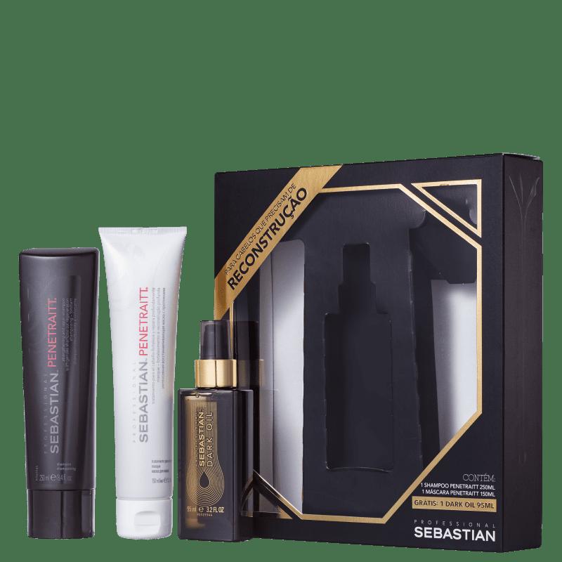 Kit Sebastian Professional Penetraitt Dark Oil (3 Produtos)