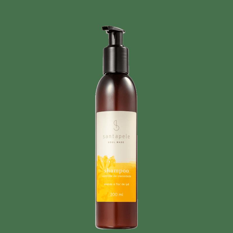 Santapele Ananás e Flor de Ipê Controle de Oleosidade - Shampoo 200ml