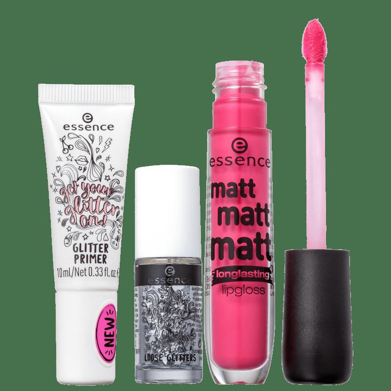 Kit Essence Matt Glitter (3 Produtos)