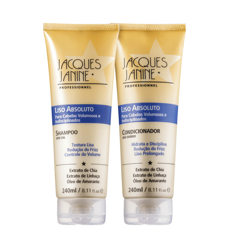 Kit Jacques Janine Professionnel Liso Absoluto (2 Produtos)