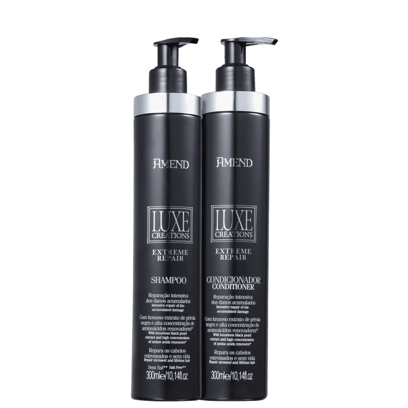 Kit Amend Luxe Creations Extreme Repair Duo (2 Produtos)